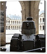 Les Invalides - Paris France - 01133 Acrylic Print by DC Photographer