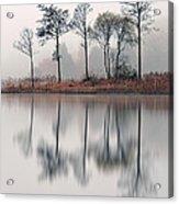 Loch Ard Reflections Acrylic Print by Grant Glendinning