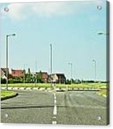 Modern Road Acrylic Print by Tom Gowanlock