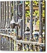 Old Gate Acrylic Print by Tom Gowanlock