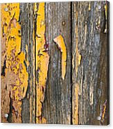 Old Wooden Background Acrylic Print by Carlos Caetano