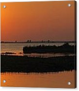 Panoramic Sunset Acrylic Print by Frozen in Time Fine Art Photography
