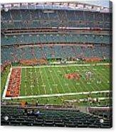 Paul Brown Stadium Acrylic Print by Dan Sproul
