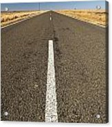 Road Ahead Acrylic Print by Tim Hester