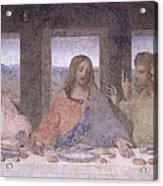The Last Supper Acrylic Print by Leonardo Da Vinci