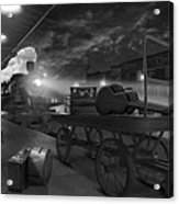The Station Acrylic Print by Mike McGlothlen
