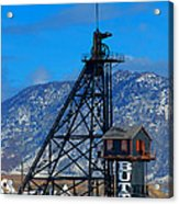 Travona Mine  Acrylic Print by Kevin Bone