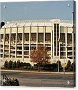 Veterans Stadium Acrylic Print by Joseph Perno
