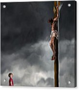 Yes Jesus Loves Me Acrylic Print by Mark Spears