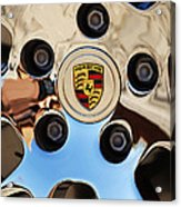 2010 Porsche Panamera Turbo Wheel Acrylic Print by Jill Reger