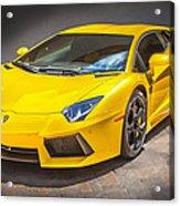 2013 Lamborghini Adventador Lp 700 4 Acrylic Print by Rich Franco