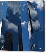 New York City Acrylic Print by ELITE IMAGE photography By Chad McDermott