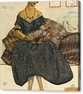 Blanco Y Negro  1923  1920s Spain Cc Acrylic Print by The Advertising Archives