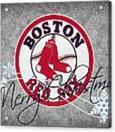 Boston Red Sox Acrylic Print by Joe Hamilton