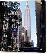 Empire State Building Acrylic Print by Jon Neidert