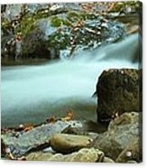 Flow Acrylic Print by Dan Sproul