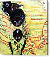 Holy Family Acrylic Print by Gloria Ssali