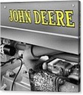 John Deere Acrylic Print by Dan Sproul