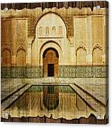 Medina Of Marakkesh Acrylic Print by Catf