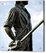 Minute Man Statue Concord Massachusetts Acrylic Print by Staci Bigelow