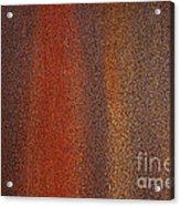 Rusty Background Acrylic Print by Carlos Caetano