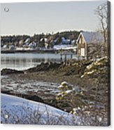 South Bristol On The Coast Of Maine Acrylic Print by Keith Webber Jr