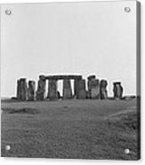 Stonehenge Acrylic Print by Anonymous