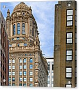 35 East Wacker - Jewelers' Building Chicago Acrylic Print by Christine Till