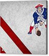 New England Patriots Acrylic Print by Joe Hamilton