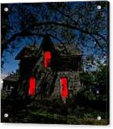 3am At The Farmhouse  Acrylic Print by Cale Best