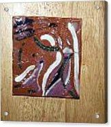 Dance - Tile Acrylic Print by Gloria Ssali