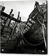 Old Abandoned Ships Acrylic Print by RicardMN Photography