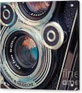 Old Vintage Camera Acrylic Print by Sabino Parente