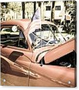 49 Plymouth Acrylic Print by Chris Smith