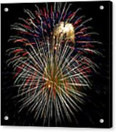 4th Of July 1 Acrylic Print by Marilyn Hunt