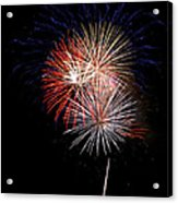 4th Of July 7 Acrylic Print by Marilyn Hunt
