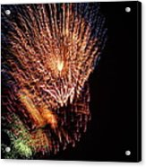 4th Of July Acrylic Print by April Lerro