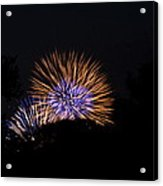 4th Of July Fireworks - 011315 Acrylic Print by DC Photographer