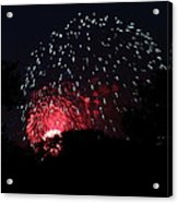 4th Of July Fireworks - 011316 Acrylic Print by DC Photographer