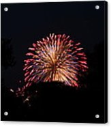 4th Of July Fireworks - 011322 Acrylic Print by DC Photographer