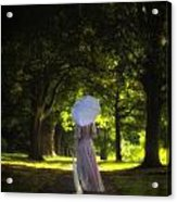Jane Austen Acrylic Print by Joana Kruse