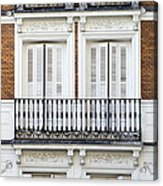 Madrid Acrylic Print by Frank Tschakert