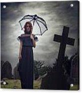 Mourning Acrylic Print by Joana Kruse