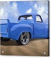 56 Studebaker Truck Acrylic Print by Mike McGlothlen