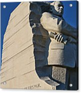 Martin Luther King Jr. Memorial Acrylic Print by Allen Beatty
