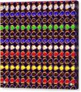 Infinity Infinite Symbol Elegant Art And Patterns Acrylic Print by Navin Joshi