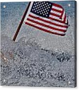 Stars And Stripes Acrylic Print by Steven Lapkin