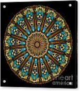 Kaleidoscope Steampunk Series Acrylic Print by Amy Cicconi