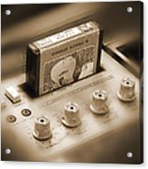 8-track Tape Player Acrylic Print by Mike McGlothlen