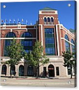 Texas Rangers Ballpark In Arlington Acrylic Print by Frank Romeo